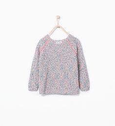 Immagine 1 di Pullover multicolore paillette di Zara