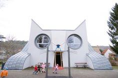 こんな幼稚園に行きたいにゃー! ネコ好きにはたまらない幼稚園