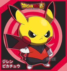 Jiren y Pikachu Pokemon Avatar, Pokemon One, Pokemon Dragon, Rare Pokemon Cards, Pokemon Memes, Pokemon Fan Art, Cute Pokemon, Deadpool Pikachu, Pikachu Art
