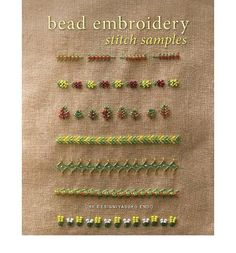 'Bead Embroidery Stitch Samples' by CRK Design and Yasuko Endo