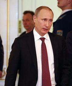 B E A S T  O presidente russo, Vladimir Putin, é visto no  (Foto: Sergei Gapon/AFP)