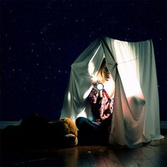 Camping for Cowards by Lissy Elle Laricchia, via Flickr