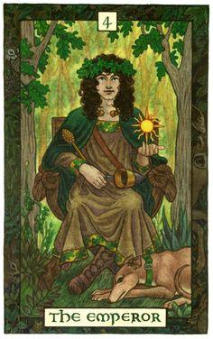 The Emperor by Thalia Took The Emperor Tarot, Tarot Cards For Beginners, Pagan Art, Tarot Major Arcana, Tarot Learning, Tarot Card Meanings, Tarot Readers, Tarot Spreads, Thalia