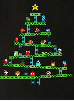Retro gaming Christmas