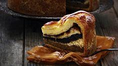 Kynutý štědrák neboli skládaný koláč se čtyřmi druhy náplně   Recepty na Prima Fresh French Toast, Pancakes, Breakfast, Morning Coffee, Pancake, Crepes