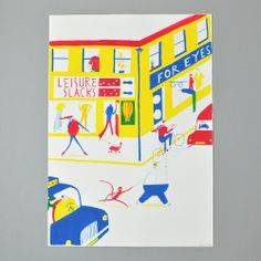 """Leisure Slacks"" FROSTVILLE original  by Daniel Frost £80.00"
