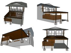 Installing a clear pergola roof was the best decision ever. It has turned our side yard is a three season patio that we can enjoy in any weather. Pergola Attached To House, Pergola With Roof, Wooden Pergola, Outdoor Pergola, Covered Pergola, Diy Pergola, Pergola Kits, Pergola Canopy, Gazebo
