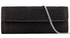 Grace Angel Womens Retro Lace Satin Clutch Purse Bag Evening Handbags Ga124774 Black ** Click on the image for additional details.