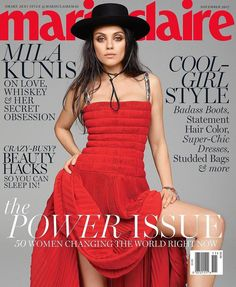 Mila Kunis by Kai Z Feng for Marie Claire US November 2017