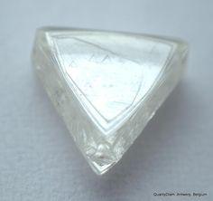 Rough Diamonds, Uncut Diamonds, Natural and Raw Diamonds - Antwerp Belgium Diamond Trade, Diamond Mines, Uncut Diamond, Rough Diamond, Diamond Gemstone, Diamond Jewelry, Antwerp Belgium, Secrets Of The Universe, Triangle Shape