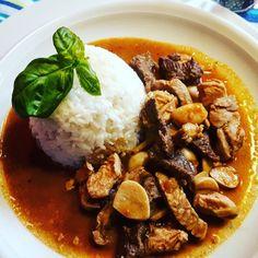 Drei-Freunde-Curry (Gäng Ped Drei Mitt)  #foodblog #Food #foodporn #Curry #Thai #freunde #reis