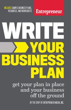The 4 Types of Business Plans Write Your Business Plan product/write-your-business-plan/?ctp=Press&src=Entrepreneur&cnm=&cdt=relheadine 9 Questions You Should Ask Before Hiring a Business Broke. Best Business Plan, Writing A Business Plan, Sample Business Plan, Start Up Business, Starting A Business, Business Planning, Business Tips, Online Business, Business Plan Format