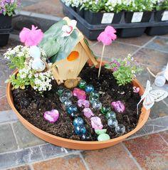 Photo 7 of 55: Fairy Garden Party / Birthday Emelias Magical Fairy Garden Party | Catch My Party