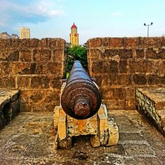 Old Spanish Cannons Intramuros, Filipiniana, Manila, Cannon, Old Photos, Places Ive Been, Philippines, Spanish, Island