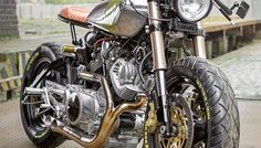 JOLIE LADIE. A Beautiful Yamaha XV920 From Poland's Ugly Motors