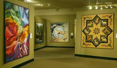 The National Quilt Museum, Paducah, Kentucky. Quilt lovers around the world make the pilgrimmage.