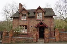 This is the Duke of Sutherland Cottage and Doctor's Surgery at Blists Hill Victorian Town - it's a very popular stop on everyone's tour around the Town! Victorian Village, Duke, Surgery, Cottage, Cabin, Popular, House Styles, Home Decor, Decoration Home