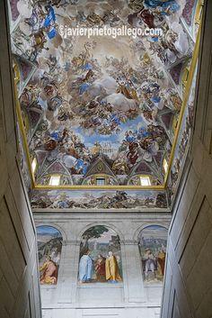 Fresco, Real Madrid, Escorial Madrid, Travel Around The World, Around The Worlds, Mural Painting, Barcelona Spain, Beautiful Buildings, Kirchen