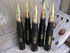 Engraved Groomsmen Gifts - 50 Cal Bottle Openers - By Bottle Breacher ~Open your next cold one in Style