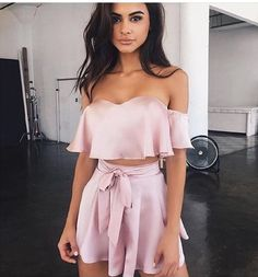 Summer Outfits 2018 Shorts where Summer Smart Casual Outfits Mens your Summer Outfits For Evening. Summer Outfits 2018 For School because Ladies Clothes Catalogue Shopping Teen Fashion, Fashion Outfits, Womens Fashion, Style Fashion, Gypsy Fashion, Pink Fashion, Dress Fashion, Latest Fashion, Fashion Beauty