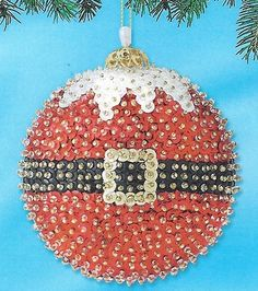 Outstanding Xmas Sequins And Ornaments On Pinterest Easy Diy Christmas Decorations Tissureus