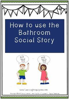 This is a great step by step social story helping kids understand how to use the bathroom. It is a great resource helping kids to understand the toiling routine. It can be helpful for parents, teachers, and caregivers!