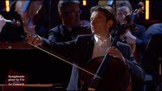 """Ave Maria - Gounod - Gautier Capuçon - """"Symphonie pour la Vie"""" Le Concert Gautier Capucon, Cello Music, Le Concert, Youtube, Fictional Characters, Musica, The Soul, Orchestra, Signs"""