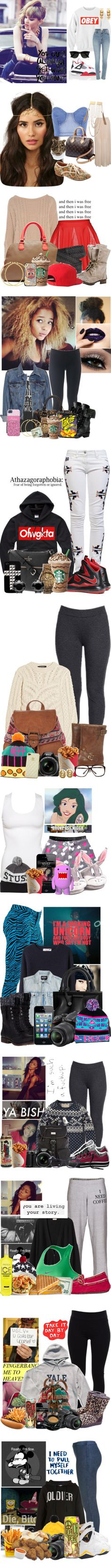 """""""Swagg Part 15"""" by littlemissdeaja ❤ liked on Polyvore"""