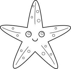 Starfish for applique