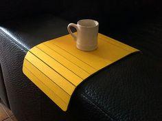 Modern sofa tablelaser cut woodsofa tray by DigitalHandmade