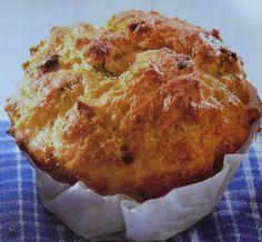 gkkreativ: Samstags Rezept : Käse - Quark - Muffins