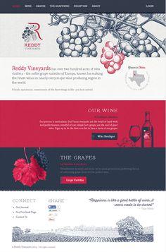 http://www.reddyvineyards.com/ #web #design #webdesign