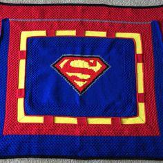 Superman Crochet Blanket Pattern
