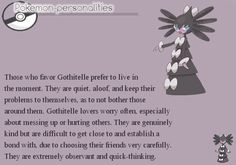 pokemon-personalities:  #576, Gothitelle
