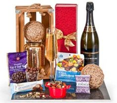 Image for With Thanks with Yellow Glen Perle Vintage from Total Office National Hampers, Thankful, Yellow, Vintage, Gold