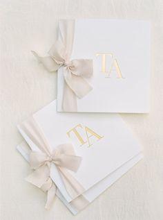 featured photographer: Michelle Boyd Photography; wedding ceremony program idea