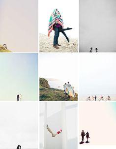 minimal engagement shoot shots