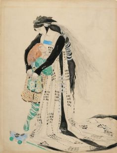 Costume Design for the Death of Tintagiles, 1912 (w/c on paper) by Charles Ricketts on The Bazaar. Buy Costume Design for the Death of Tintagiles, 1912 (w/c on paper)s by Charles Ricketts online!