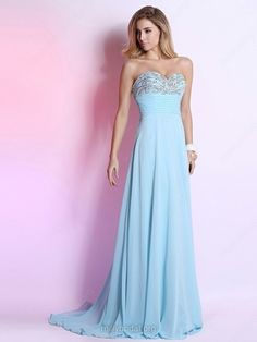 Great Prices Fast Shipping Evening Prom and Cocktail dresses #blue #long_prom_dresses