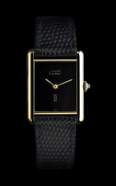 Three Unusual Cartier Tank Watches from the Past 100 Years › WatchTime - USA's Watch Magazine Sport Watches, Cool Watches, Watches For Men, Cheap Watches, Unusual Watches, Tank Watch, Cartier Tank, Swiss Army Watches, Citizen Watch
