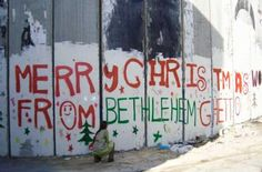 If Mary & Joseph tried to reach Bethlehem today,they would get stuck at an Israeli checkpoint - Twitter 12-26-2014