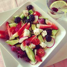#healty #salade