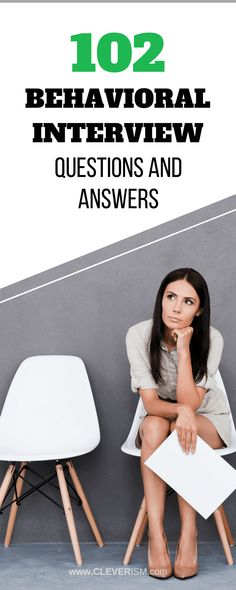 102 Behavioral Interview Questions and Answers. Job applicants that know how to answer behavioral interview questions have higher chances of getting the job. We show you how to answer those questions. Star Interview Questions, Medical Assistant Interview Questions, Behavioral Interview Questions, Job Interview Tips, Best Interview Answers, Telephone Interview Questions, Professional Interview Questions, Marketing Interview Questions, Star Questions