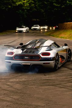 The Koenigsegg CCX and Trivata are one of the fastest supercars in the world. With as much power as a Bugatti Veyron and at half the weight. Exotic Sports Cars, Exotic Cars, Koenigsegg One1, Porsche 918 Spyder, Sweet Cars, Expensive Cars, Car Wallpapers, Amazing Cars, Car Car