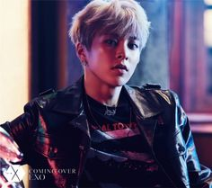 Xiumin - 161027 'Coming Over' teaser image Credit: Official EXO Japan website.