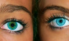 Beautiful Eyes Color, Stunning Eyes, Pretty Eyes, Cool Eyes, Rare Eye Colors, Rare Eyes, Eye Lens Colour, Different Colored Eyes, Rainbow Eyes
