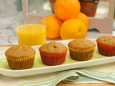 Oatmeal Muffins Recipe : Food Network - FoodNetwork.com
