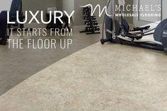 USFloors - SAVE 30-60% Limited Time Sale -  COREtec Plus Tile - Amalfi Grey - #homedecor, #homegoals, #vinylfloors, #coretec, #LVP, #home, #flooring, #DIY - 800-344-8585 - Call to Save! Us Floors Coretec, Coretec Plus, Cork Underlayment, Waterproof Flooring, Amalfi, Tile, Grey, Gray, Mosaics