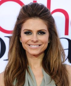 Now Trending: Mod-Inspired Hairstyles | Maria Menounos goes for a voluminous half up-do