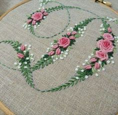 Japanese Embroidery Flowers contrast in style and substance Embroidery Alphabet, Hardanger Embroidery, Embroidery Monogram, Hand Embroidery Stitches, Silk Ribbon Embroidery, Embroidery Hoop Art, Embroidery Techniques, Machine Embroidery, Embroidery Designs